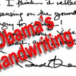 Barak Obama's handwriting falls short of John F. Kennedy's autograph