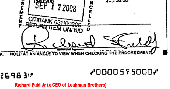 CEO of leahman brothers