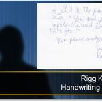 Handwriting of the Month: Who is Rigg K.?