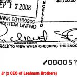 Lehman Brother's CEO handwriting analysis