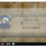 How to Analyze Block Printing Lecture with Bart Baggett